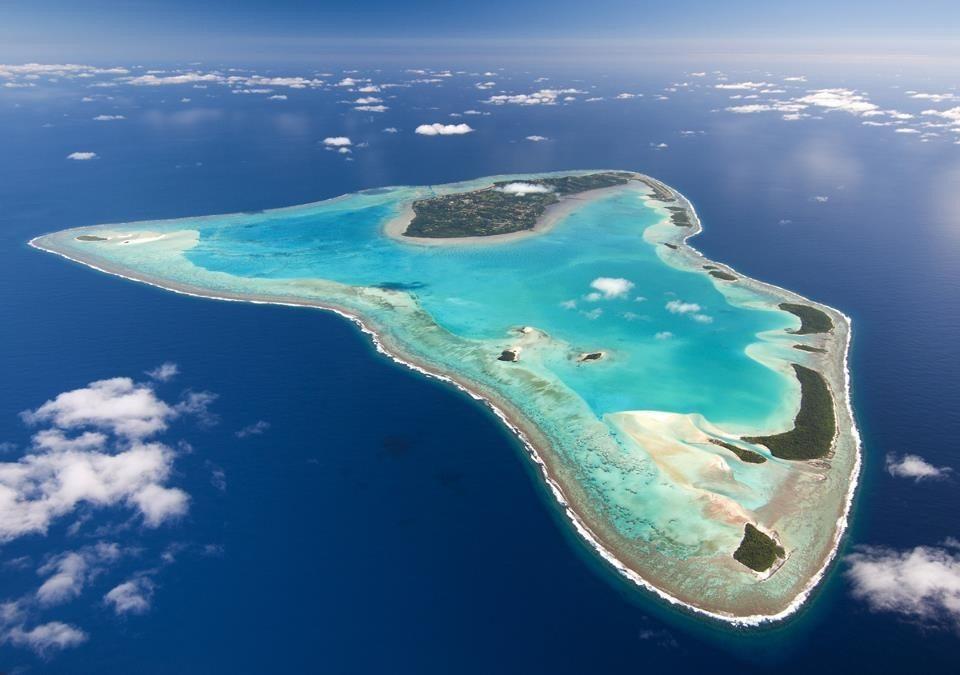 Tam też kopią: Wyspy Cooka