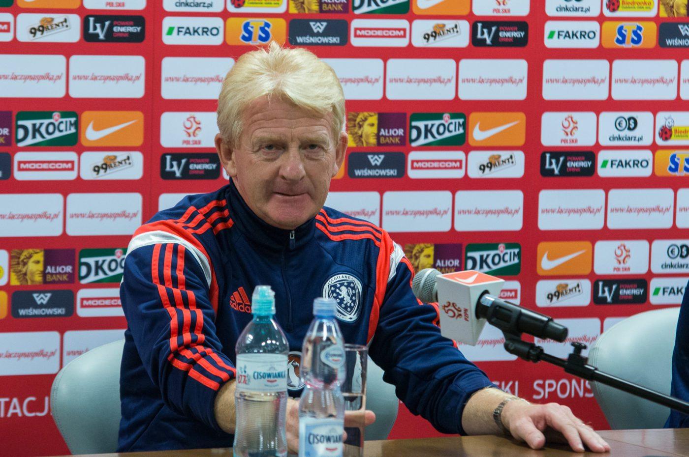Gordon Strachan nie jest już trenerem reprezentacji Szkocji