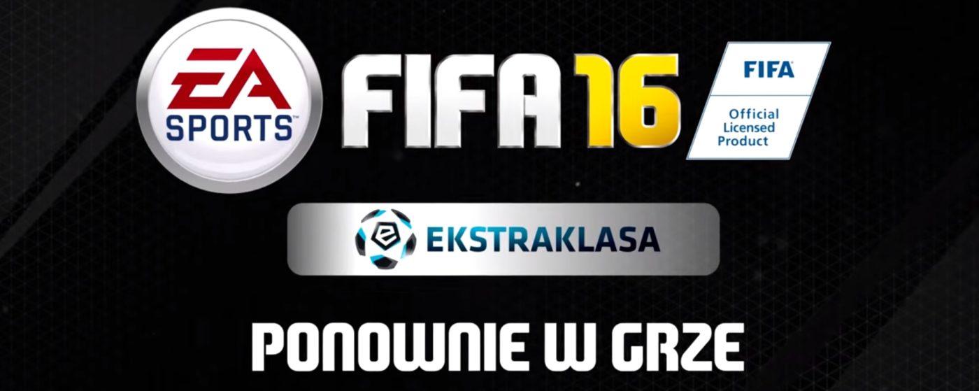 Piłkarze ekstraklasy w FIFA 16 – nie brakuje niespodzianek