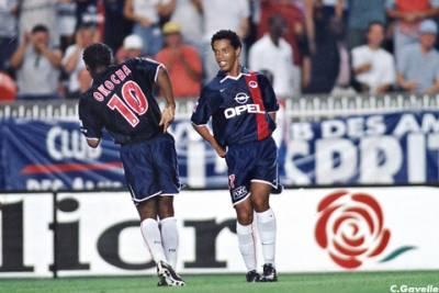Throwback Thursday: Ronaldinho i Jay-Jay Okocha w PSG