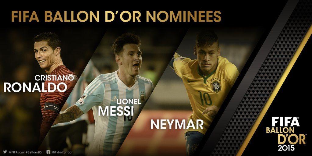 Statystyki kandydatów do Złotej Piłki FIFA 2015