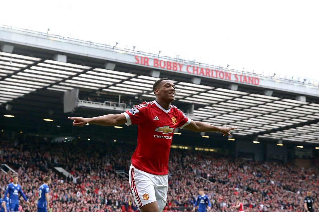Tysiąc bramek United na Old Trafford! Martial bohaterem, Everton we łzach