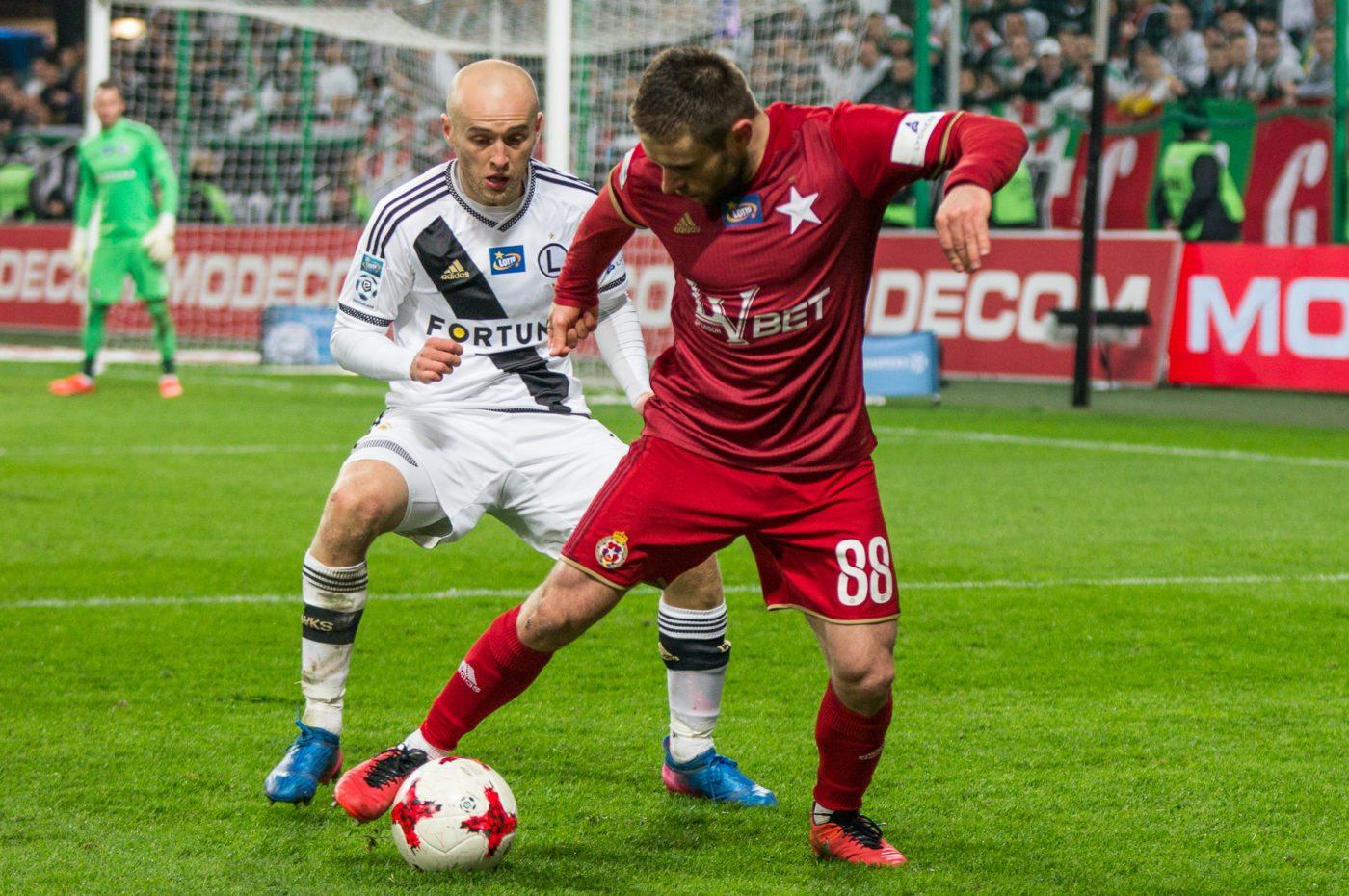 Wisła Kraków kontra Legia Warszawa, więcej niż mecz