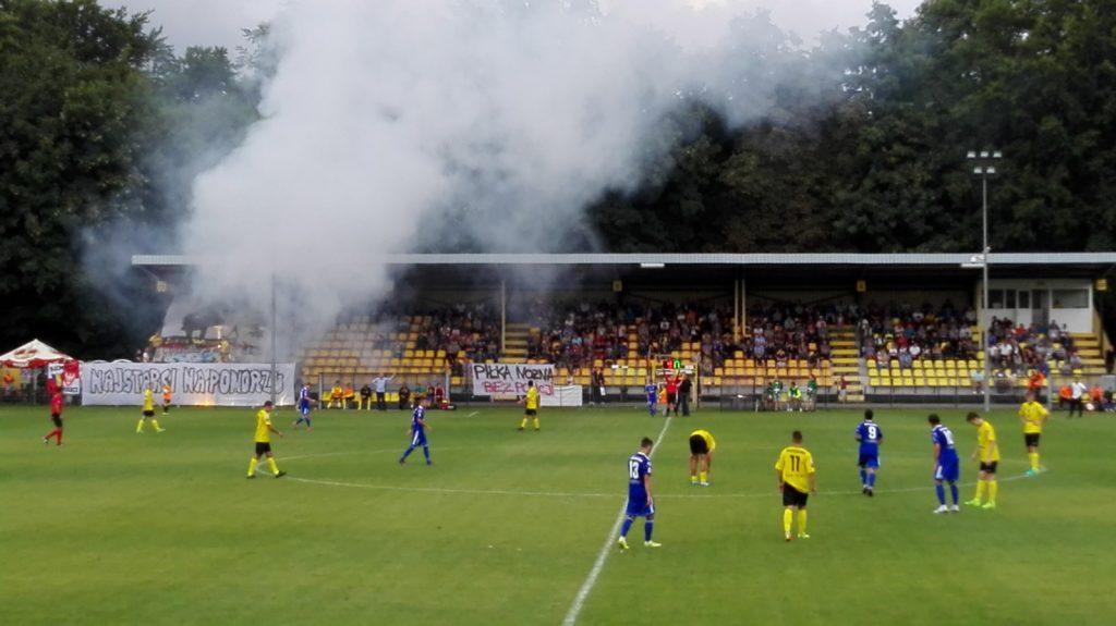 Z wizytą w Wejherowie, czyli ŁKS wraca na piłkarską mapę Polski