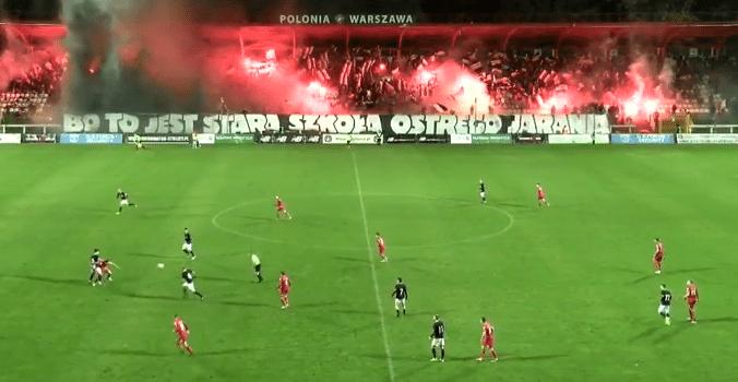 Warszawa znów niegościnna dla Widzewa
