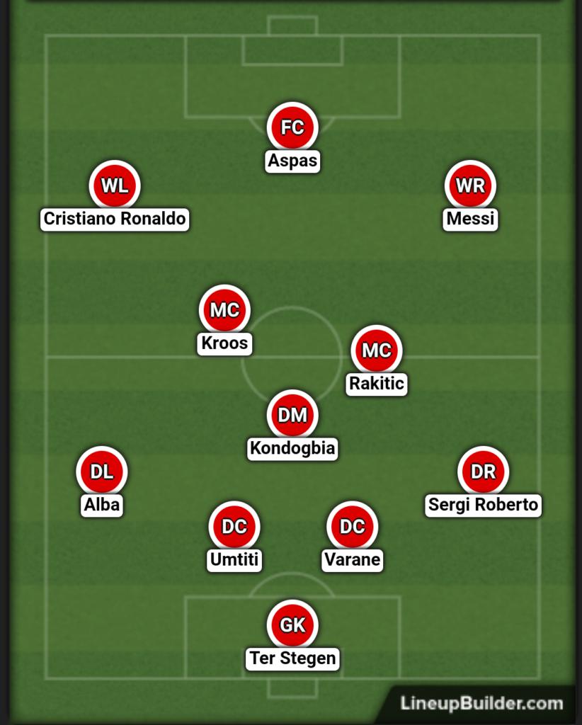 jedenastka sezonu Primera Division