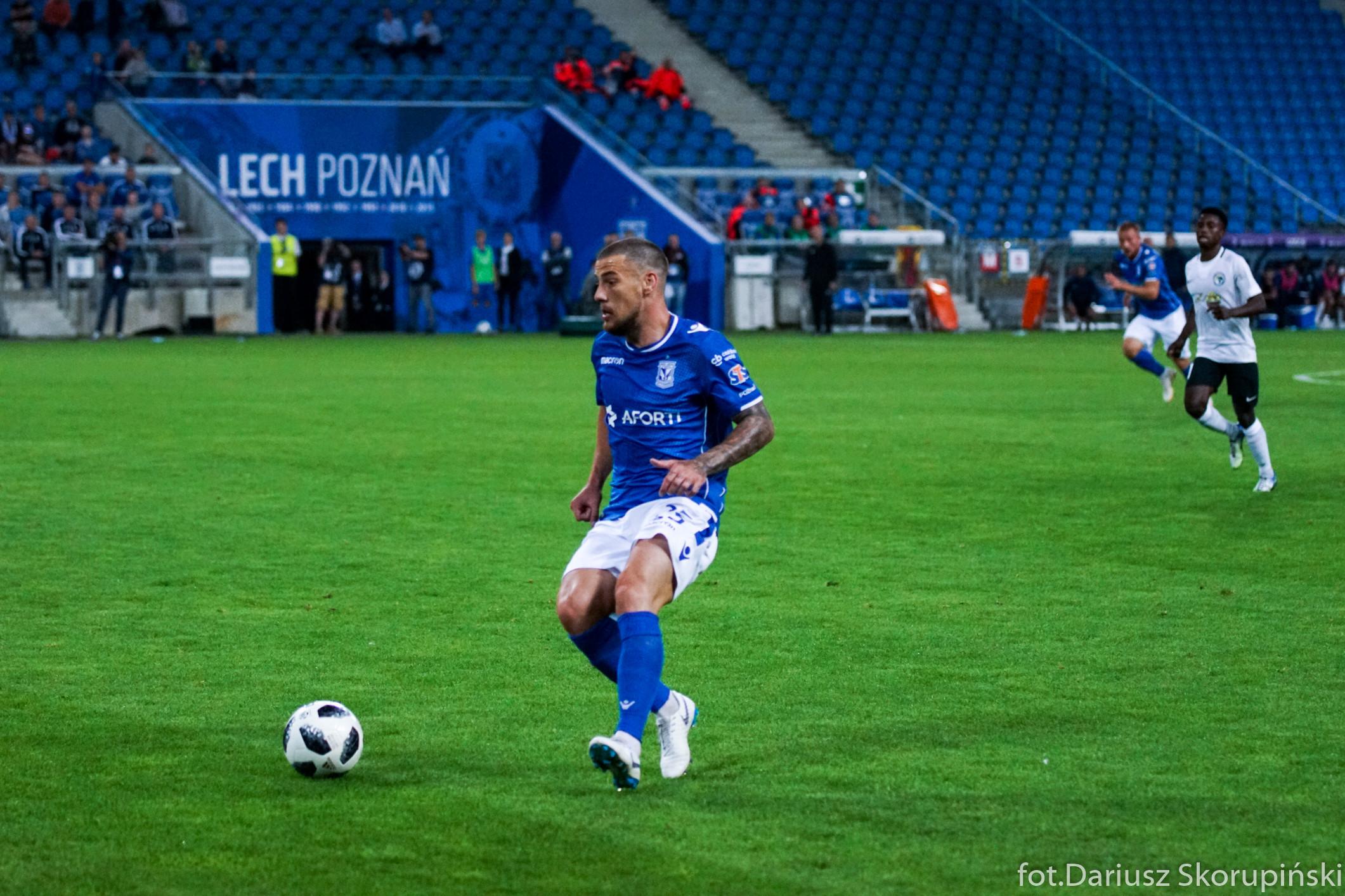 Pedro Tiba – kluczowy piłkarz Lecha Poznań
