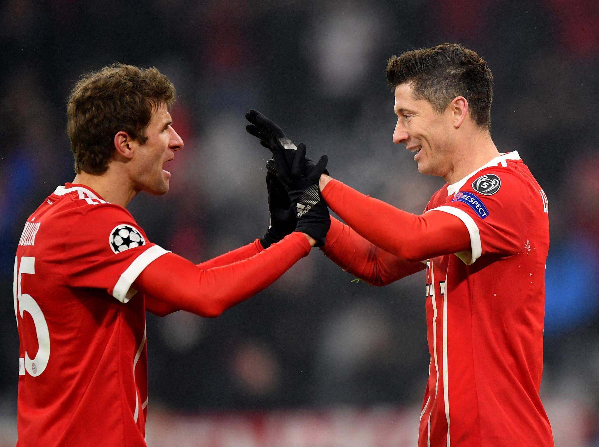 Bayern Monachium w dobrej formie przed meczem z BVB