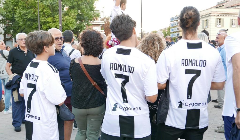 Włoska robota Cristiano Ronaldo