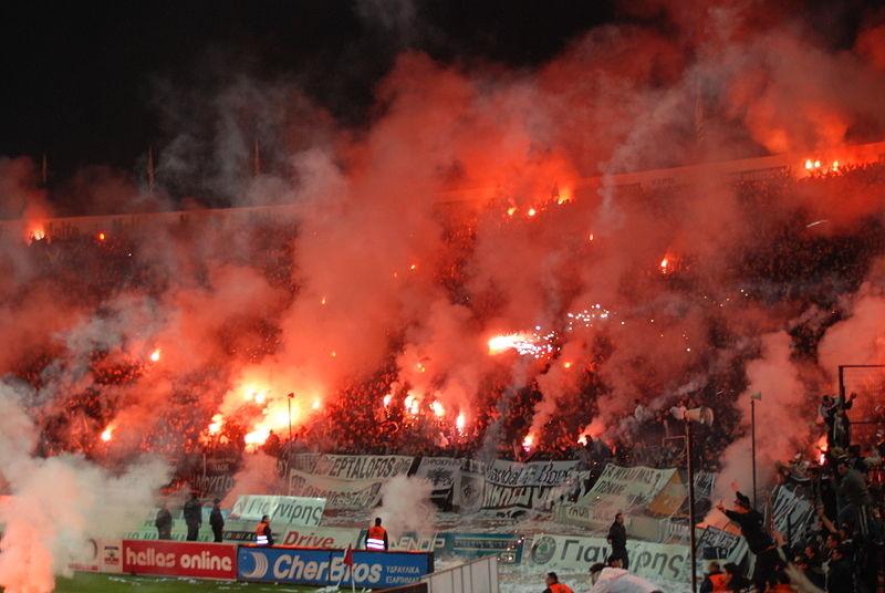 Olimpiakos Pireus i PAOK Saloniki panami ligi greckiej