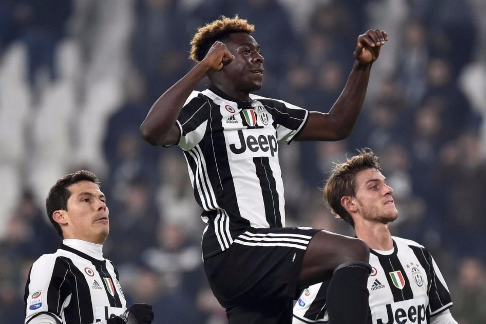 """Młody gniewny Moise Kean prowadzi """"Juve"""" do wygranej z Udinese"""