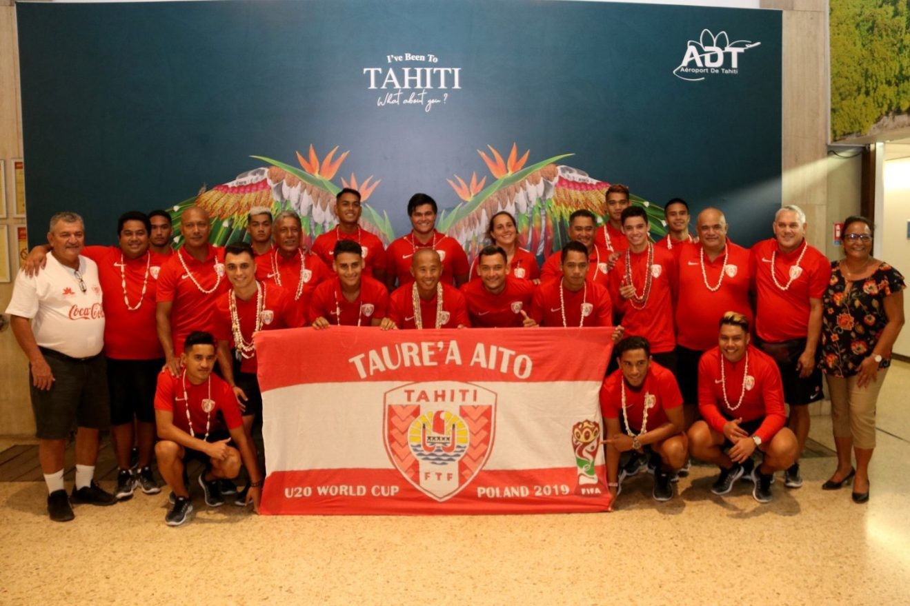Reprezentacja Tahiti U20 – kopciuszek na polskim mundialu