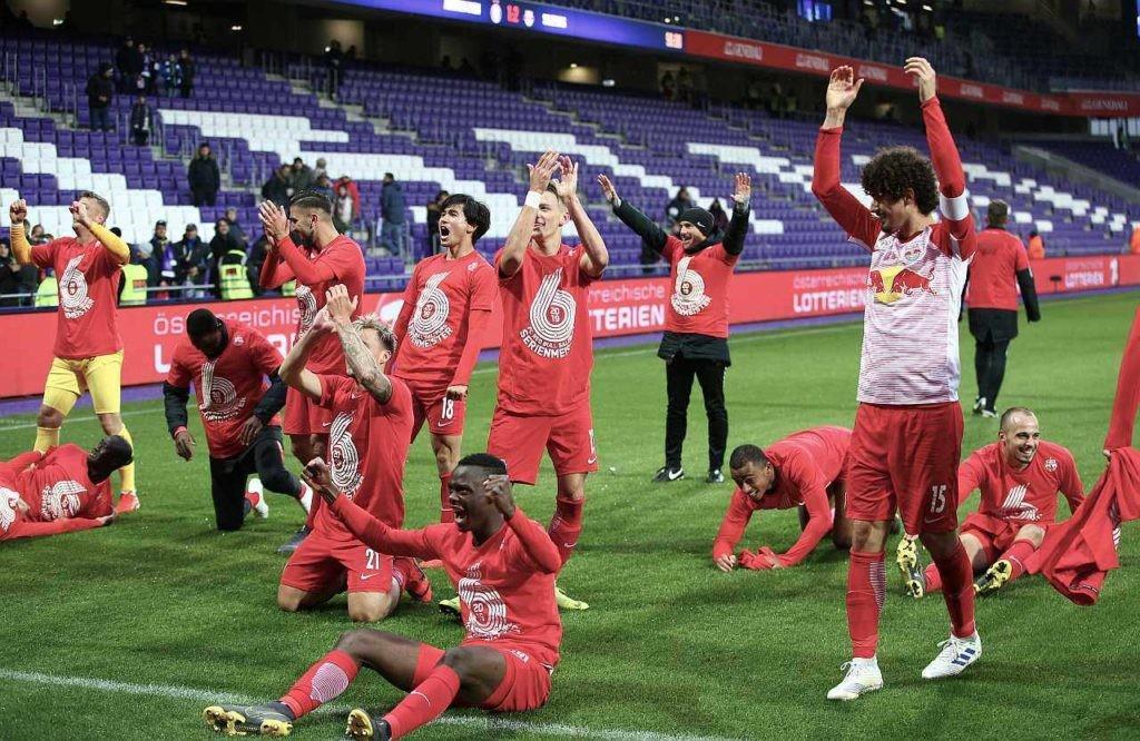 Red Bull Liga Mistrzów – Salzburg spełnia swoje marzenia