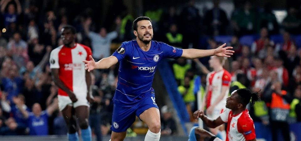 Pedro – ważny element układanki Chelsea w Lidze Europy