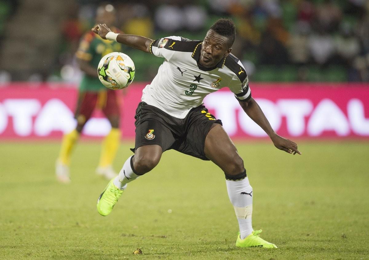Asamoah Gyan w drodze po historyczny wyczyn