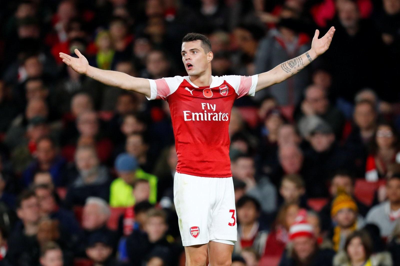 Granit Xhaka w Arsenalu to postać tragiczna