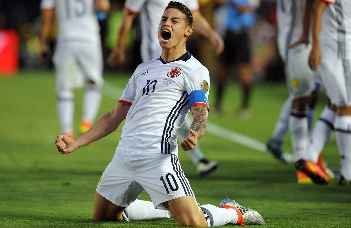 Podbić Anglię. James Rodriguez w Evertonie