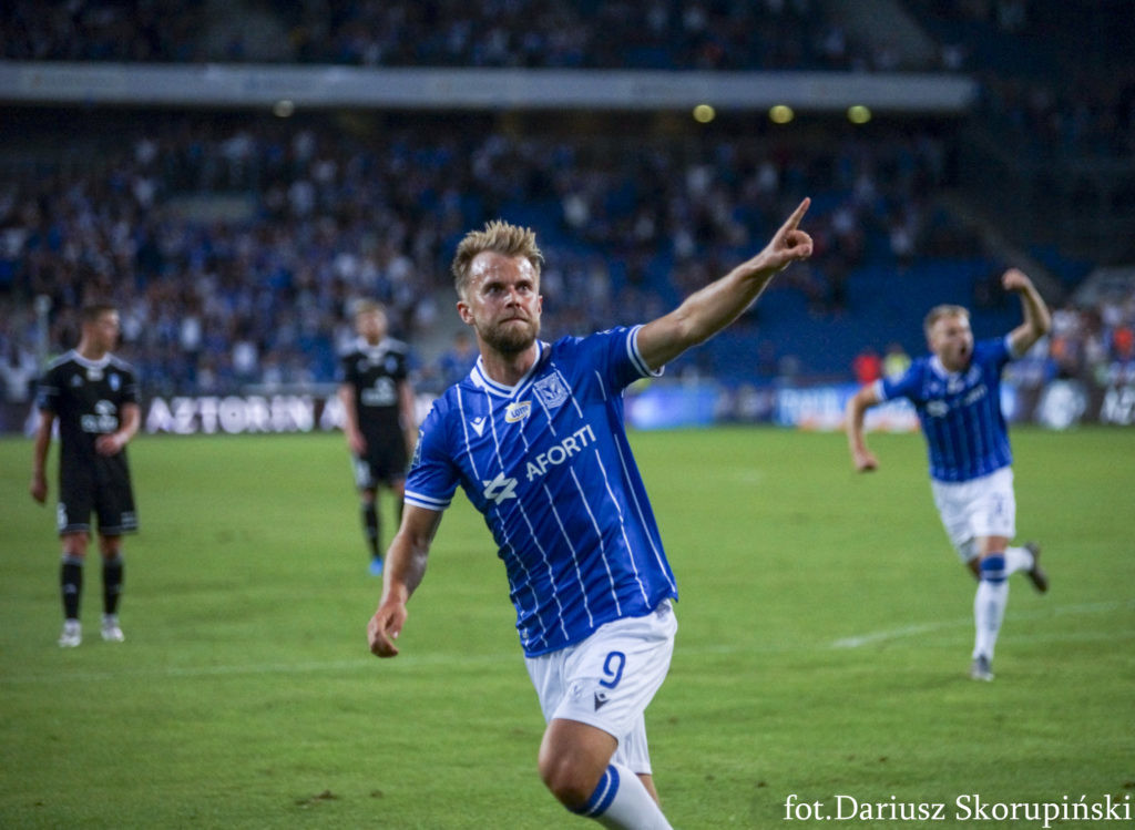 Christian Gytkjaer gwarantem kilkunastu bramek dla Lecha Poznań