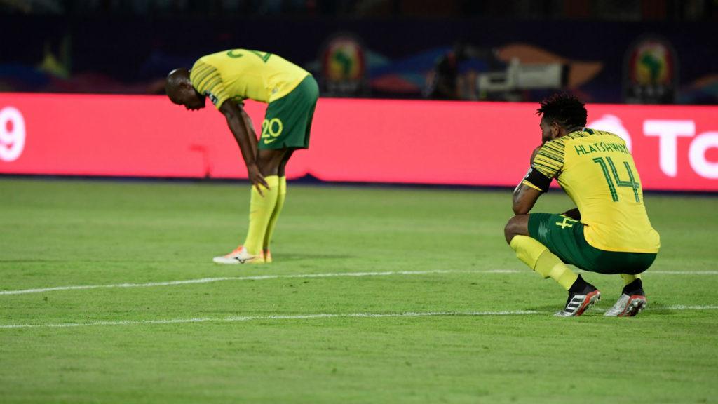 Stagnacja piłki nożnej w RPA