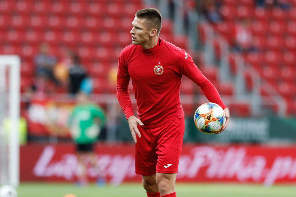 Marcin Robak przeszedł do historii Widzewa Łódź