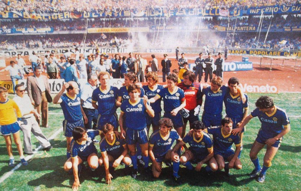 FJW: Serie A 1984/85 – Hellas Verona mistrzem