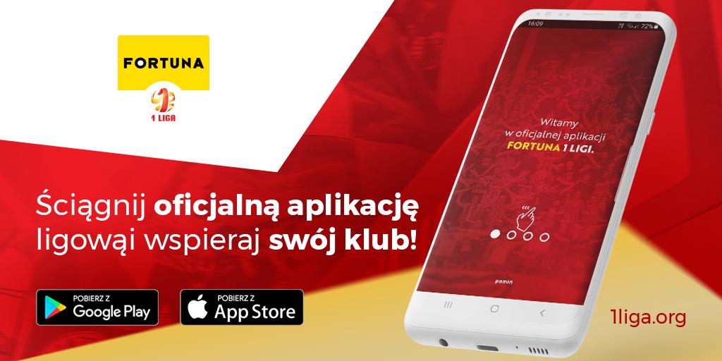 Fortuna 1. Liga startuje z oficjalną aplikacją