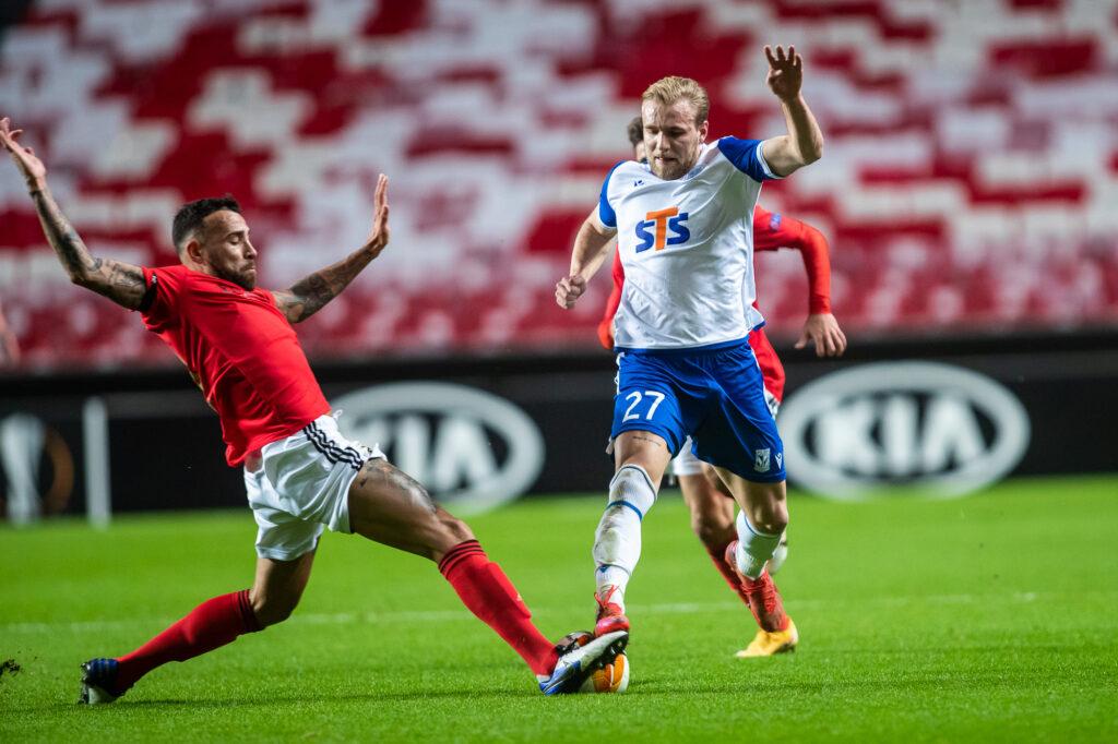 Nieudane pożegnanie z Europą. Lech przegrywa 0:2 z Rangersami