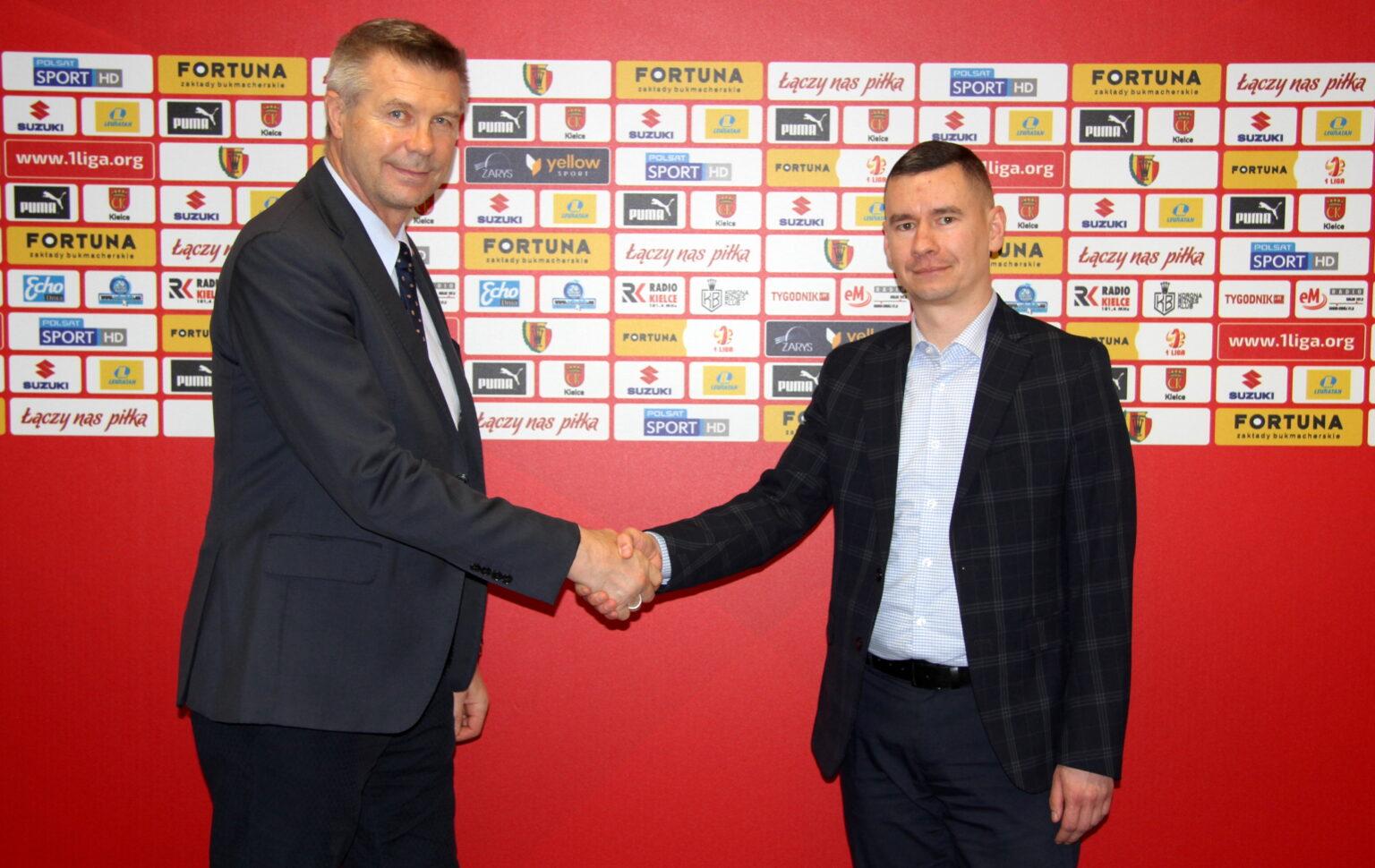 Łukasz Jabłoński, Bogdan Wenta, Korona Kielce