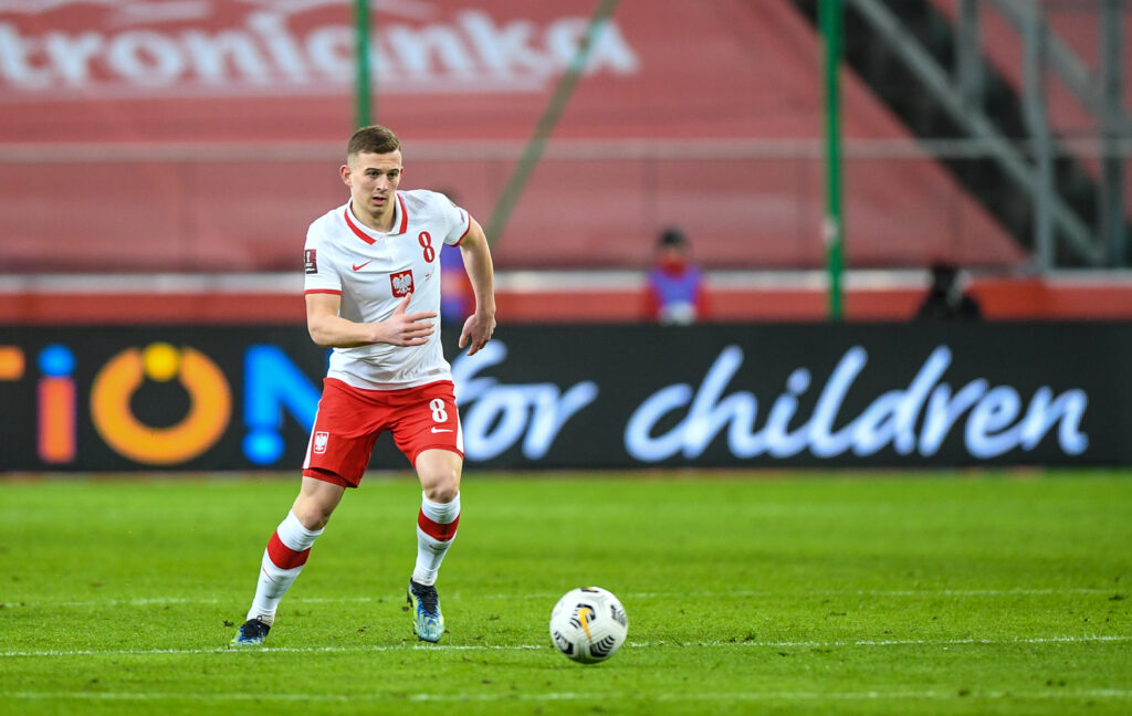 Kacper Kozłowski z debiutem w reprezentacji Polski!