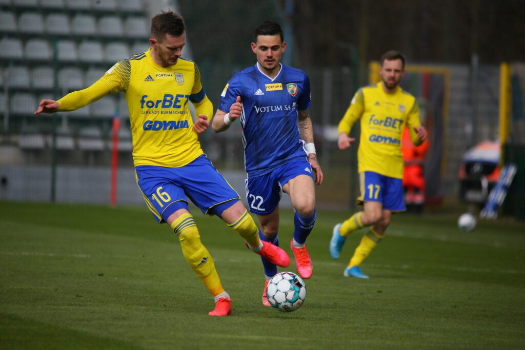 Arka Gdynia słabo weszła w kolejny sezon na zapleczu ekstraklasy…