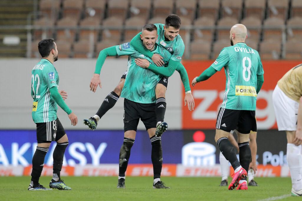 Dominacja przy Łazienkowskiej. Legia rozbiła u siebie szczecińską Pogoń