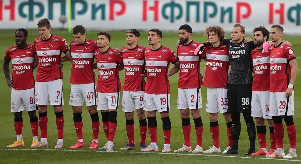 Spartak Moskwa na razie jest groźny głównie na papierze