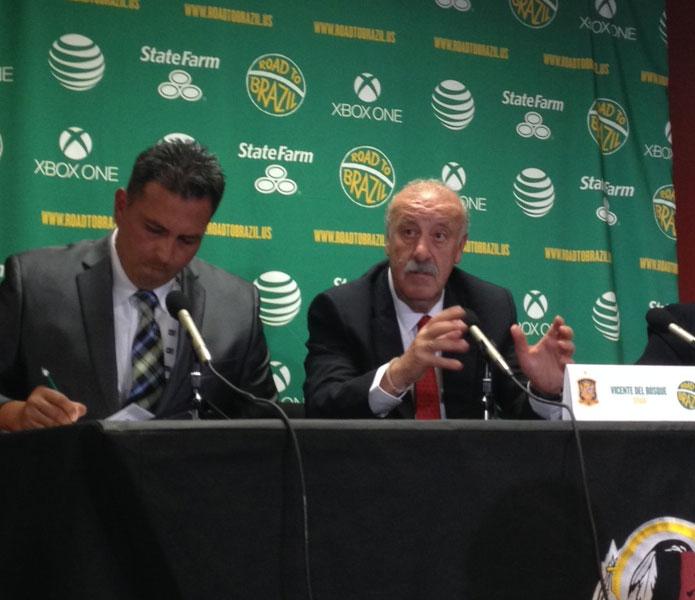 Del Bosque: Jesteśmy gotowi!
