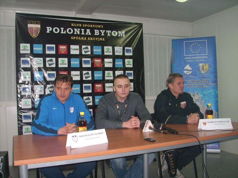 Trenerzy po meczu Polonia – Kolejarz