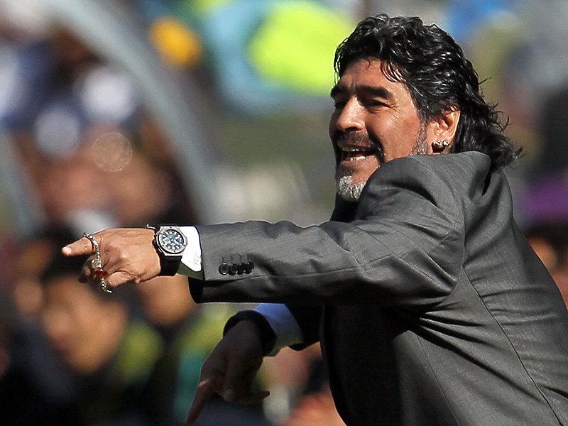 Maradona w Montpellier?