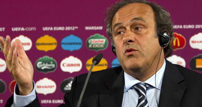 Platini rezygnuje ze stanowiska szefa UEFA!