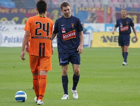 Premierowy gol Lebedyńskiego