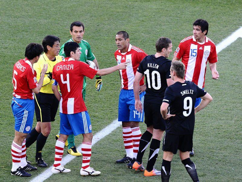 Paragwaj triumfuje w grupie F