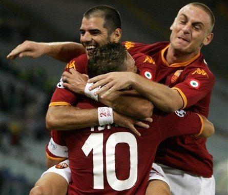 Roma stawia pierwszy krok do mistrzostwa
